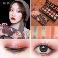 12 Colors Smooth Shimmer Eye Shadow Box Matte Texture Powder Long Lasting Waterproof Eyeshadow Palette Eyes Makeup TSLM1
