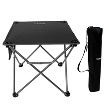 HooRu Roll-up Folding Table Picnic Fishing Camping Cloth Tables Outdoor Portable Beach Lightweight Furniture Backpacking Desk