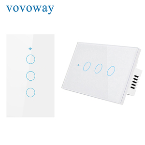 Image 4 - WIFI smart touch switch US standard light switch smart life APP remote control supports smart home alexa with Google Assistant