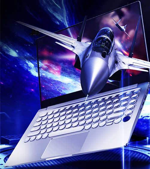 14 Inch 16GB DDR4 128GB Vân Tay Mở Khóa Backlit Vòng Bàn Phím Bluetooth 4.0 NVIDIA GeForce 940M 2G đồ Họa Windows 10 Laptop