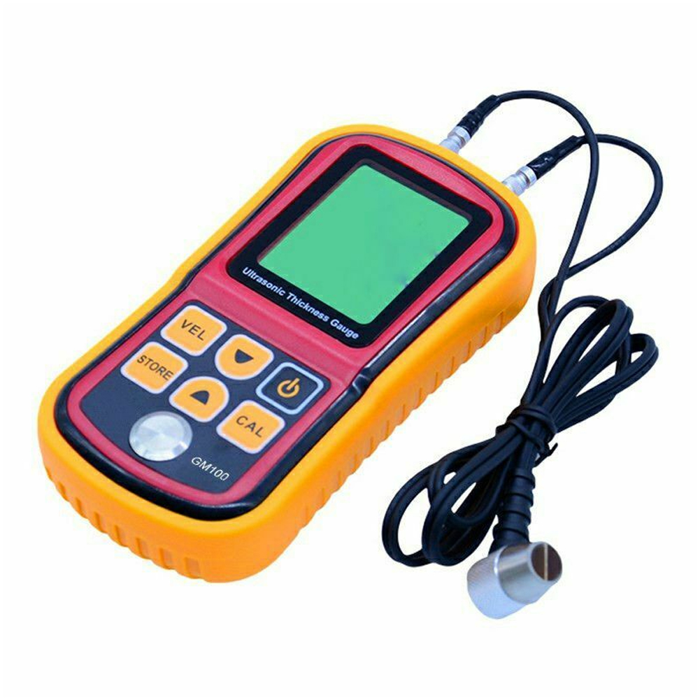 Electronic Home Sound Detector Thickness Gauge Metal Testering Ultrasonic LCD Display Handheld Digital Portable Instruments