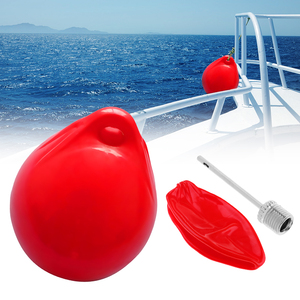 Image 1 - 1 Pcs Inflatable Boat Fender 250x300mm UV Protected Suitable for Small Boat Useful Buffers Against Scuffing Mounted Horizontally