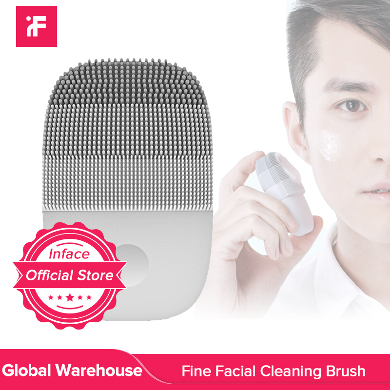 InFace Sonic Clean Electric Deep Facial Cleaning Massage Brush Special for MenPowered Facial Cleansing Devices   -
