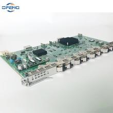 Original ZTE GTGO 8 ports service board with 8pcs C+ SFP Modules for ZTE ZXA10 GPON OLT C300 C320 GTGO business board