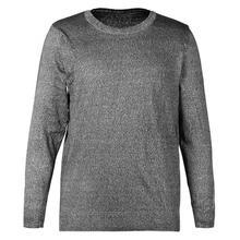 Odporny na przecięcie Anti Slash odzież poziom 5 wyposażeniem ochronnym wokół szyi z długim rękawem odzież ochronna tanie tanio CN (pochodzenie) NONE Narzędzie i bezpieczeństwa Szybkie suche Polieterosulfonowa tops Unisex Round Neck Long Sleeve Cut Resistant Clothes