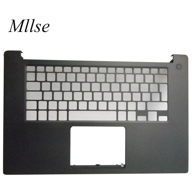 Free Shipping palmrest topcase For <font><b>DELL</b></font> XPS 15 XPS15 9550 M5510 <font><b>5510</b></font> empty UK <font><b>keyboard</b></font> bezel upper cover C cover 0D6CWH image