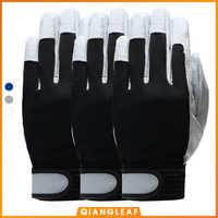 QIANGLEAF 3 uds gran oferta guantes de trabajo de cuero de Grado D guantes de trabajo de seguridad resistentes al desgaste guantes de trabajo de los hombres manopla envío gratis 508