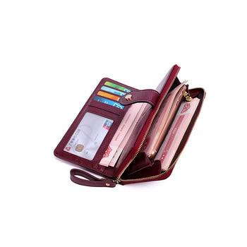 цена на New Brand PU Leather Women Wallets High Quality Designer Zipper Long Wallet Women Card Holder Ladies Clutch Purse Organizer Bag