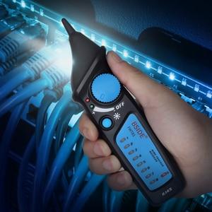 Image 5 - Detector de cable de red, FWT81, RJ11/45, Lan, Ethernet, teléfono, probador de cables, herramienta de telecomunicaciones, trabajo electrificado, 48V