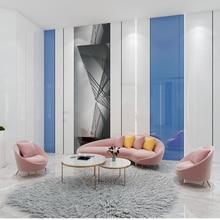 NICE curved mini sofa Beauty salon sofa
