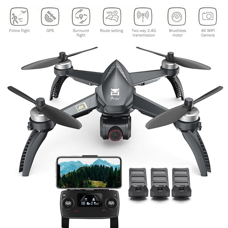 MJX B5W Upgrade 4k HD Luchtfotografie Borstelloze GPS Automatische Terugkeer Drone Lange Levensduur Afstandsbediening Speelgoed Quadcopter Vliegtuigen - 2