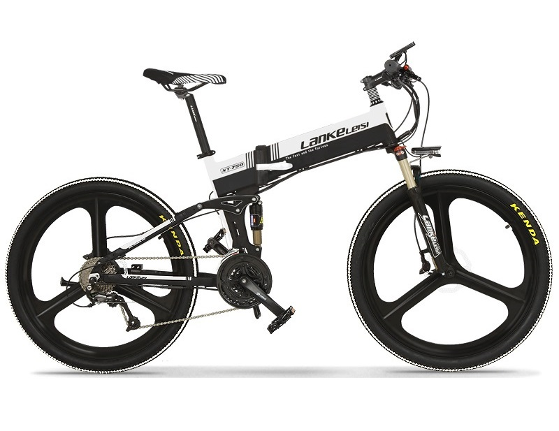 The best quality  Lankeleisi electric mtb 27-Speed Mountain Electric Bicycle 400W 10AH Panasoni'c Battery from China