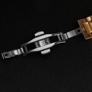 Image 2 - WAKNOER גברים של שעון מכאני חלול חיוג אופנה עיצוב Steampunk יוקרה גברים עמיד למים שלד אוטומטי שעון Relogios
