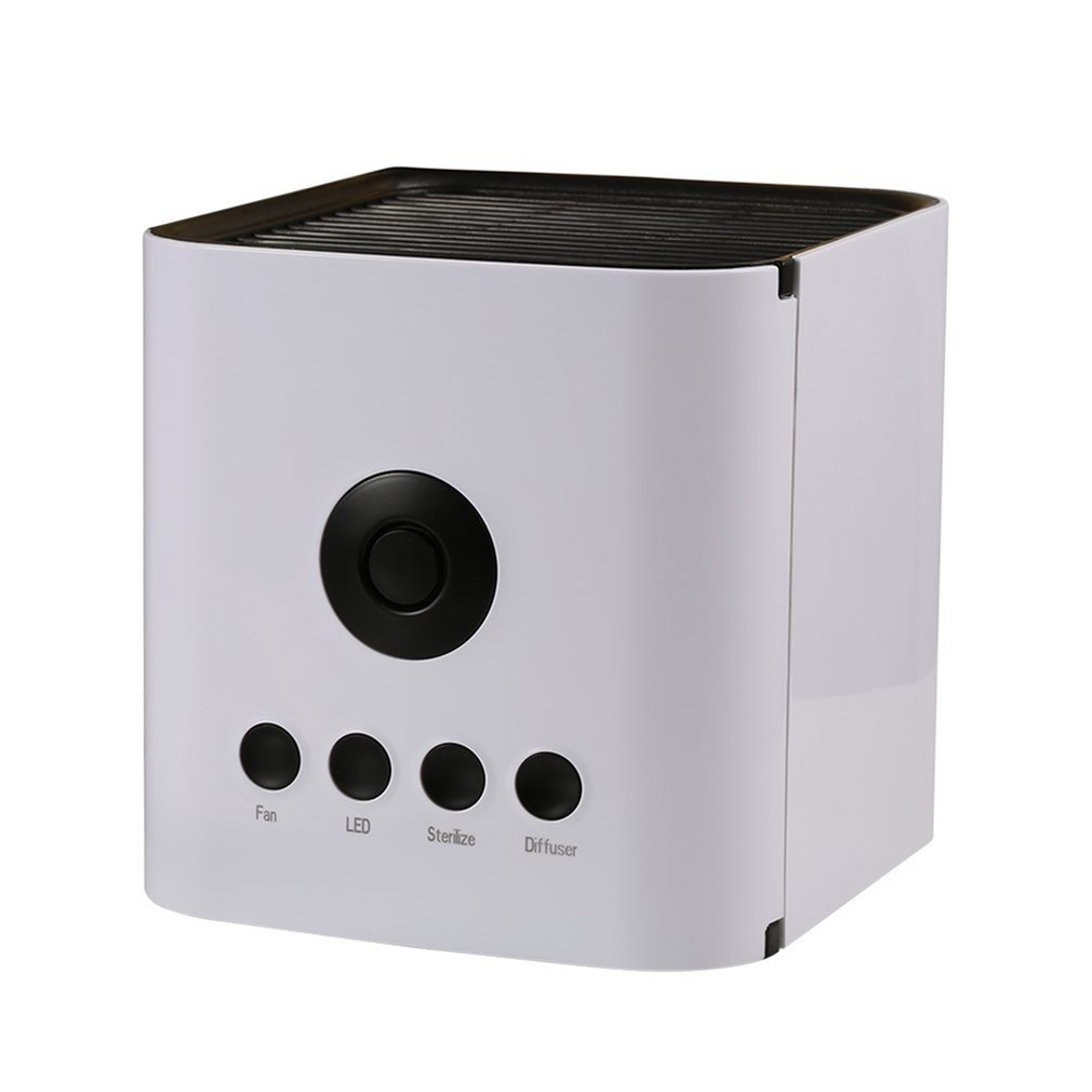 USB Powered Portable Convenient Fashion Desktop Air Conditioner Cooler Water Cooling Mini Spray Negative Ion Cooling Fan