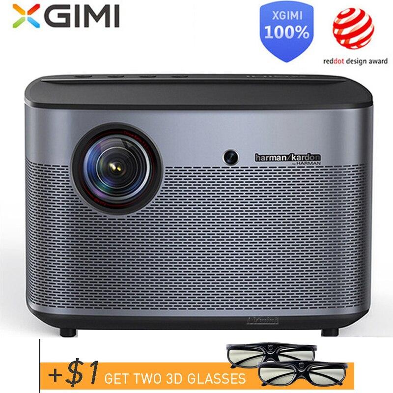 XGIMI H2 DLP Projektor 1080p Volle HD Shutter 3D 4K Video Projektor Android tv Bluetooth Wifi Home Theater bewegung entschädigung-in LCD-Projektoren aus Verbraucherelektronik bei title=