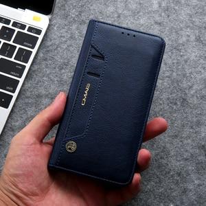 Image 2 - Nascosta Rotazione di Carte di Cassa Del Raccoglitore Del Supporto Per Samsung S20 Ultra Nota 10 + 8 9 S8 S9 S10 Più S7 bordo del Cuoio di Vibrazione della Cassa Del Telefono Capa
