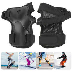 2 Pcs/Lot Durable Breathable Hand Wrist Protector Nylon Plastic for Roller Skating Skiing Snowboarding Sports Safety Equipment