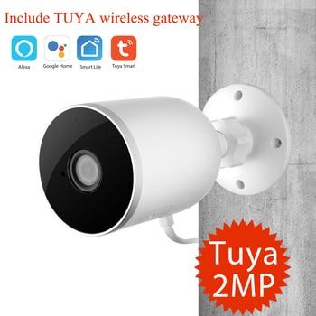 Tuya Smart WiFi Camera 1080P Wireless IP Camera Home Security Outdoor Waterproof Camera Motion Detection With TUYA Gateway hub
