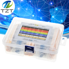 Завеса 2600 шт. 130 значений 1/4 Вт 0,25 1% металлического пленочного сопротивления пакет в ассортименте комплект комплектов/партия резисторы Ассо...