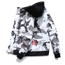 2019 New Spring Men Camo Military Jacket Wind Bomber Mens Camouflage H