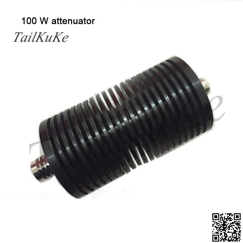 100W N RF Coaxial Attenuator, 10,20,30,40,50dB, DC-3Ghz,