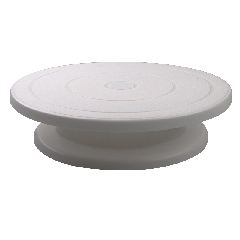 Plastic Cake Plate Turntable Rotating Anti-skid Round Cake Stand Cake Decorating Rotary Table Kitchen DIY Pan Baking Tool