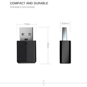 Image 4 - 5.0 Bluetooth משדר מקלט מיני 3.5mm AUX סטריאו אלחוטי Bluetooth מתאם לרכב אודיו Bluetooth משדר עבור טלוויזיה