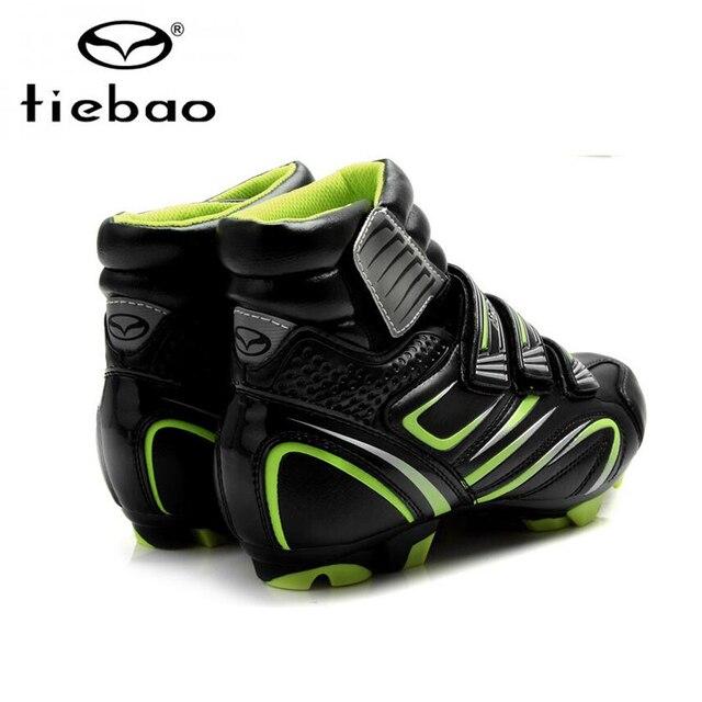 Tiebao inverno mtb sapatos de ciclismo quente das sapatilhas dos homens das mulheres sapatos de bicicleta não-deslizamento sapatos de bicicleta de montanha auto bloqueio mtb botas de bicicleta 5