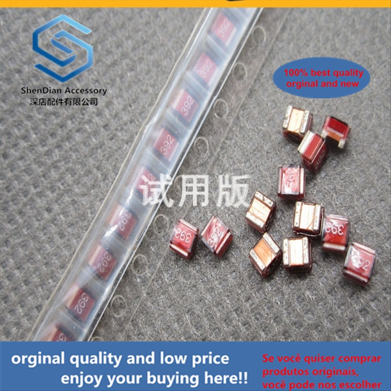 50pcs 100% Orginal New Best Quality SMD High Frequency Ceramic Wire Wound Inductor 1008CS-392XGBC 1008 --- 2520 3.9UH 0.26A