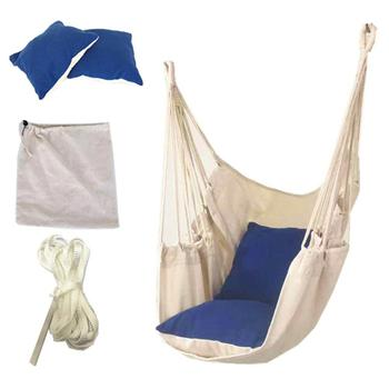 New Swing Seat Hammock Chair Seat Swing Chair Patio Swing For Outdoor Garden Hanging Chair Travel Camping Hammock Silla Colgante