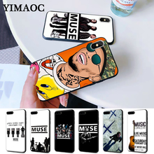 Muse Band Lyrics Music Songs Silicone Case for iPhone 5 5S 6 6S Plus 7 8 11 Pro X XS Max XR