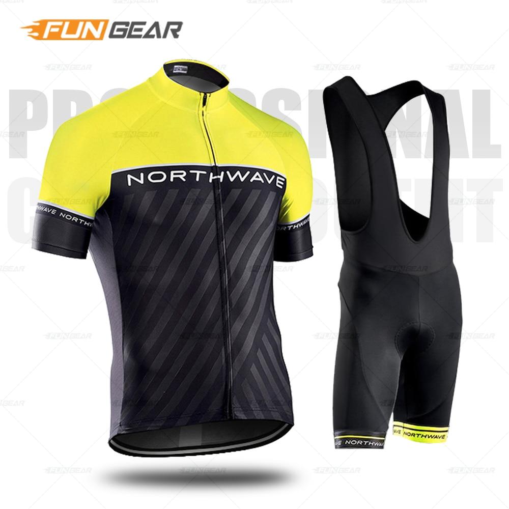 Pro cyclisme Maillot ensemble hommes manches courtes couleur fluorescente vêtements Maillot Ropa Ciclismo Uniformes vtt Cycle vêtements à séchage rapide