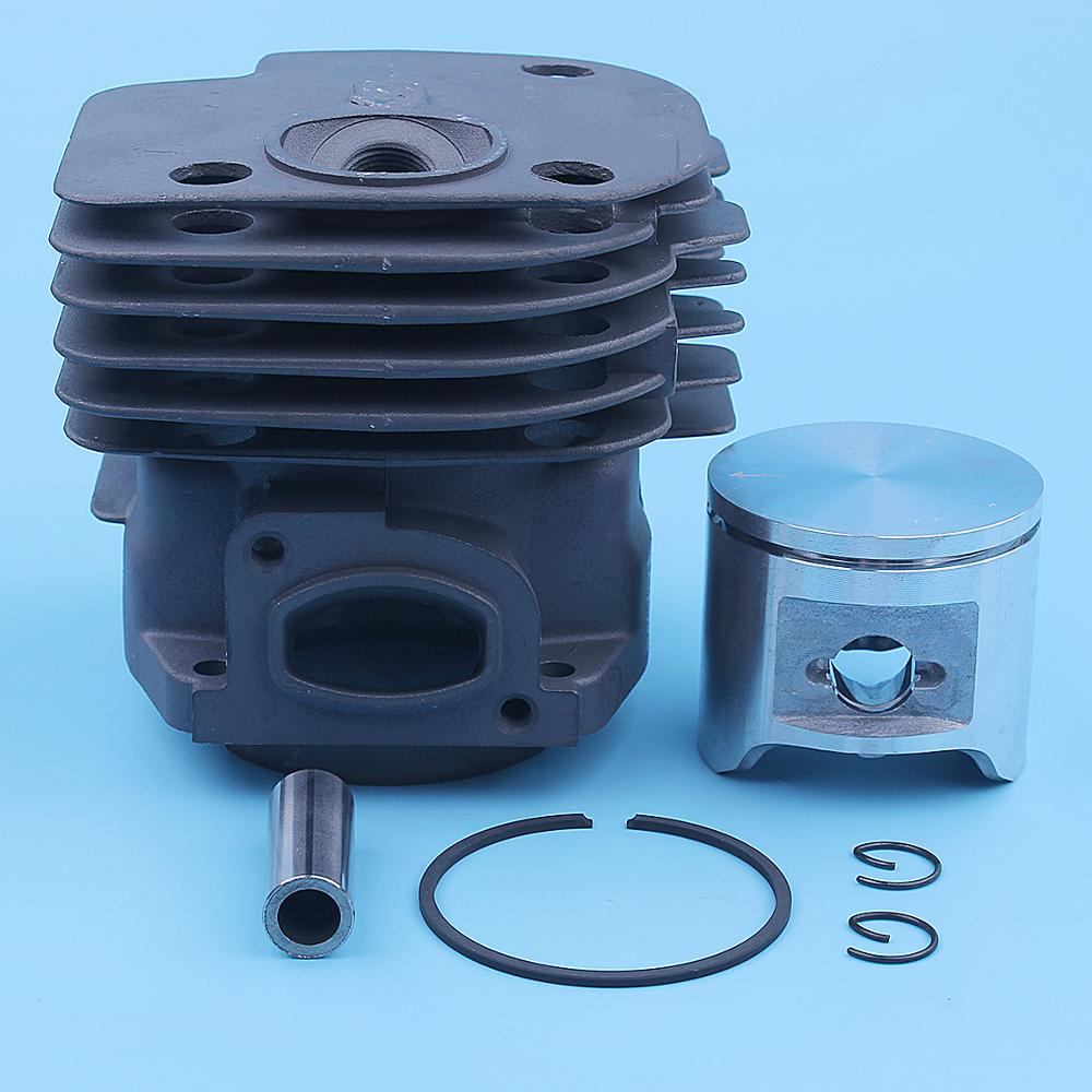 48mm Cylinder Piston Kit For Husqvarna 365 Special Jonsered 2065 CS2165 Chainsaw Square Port 503691073 503691072 Spare Part