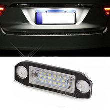 Pour Volvo S80/XC90/S40/XC60/S60/V70 plaque d'immatriculation lumière 7.8*2.7*1.7cm 1 pièces numéro lampe 3014 puce 18LED Stock de haute qualité