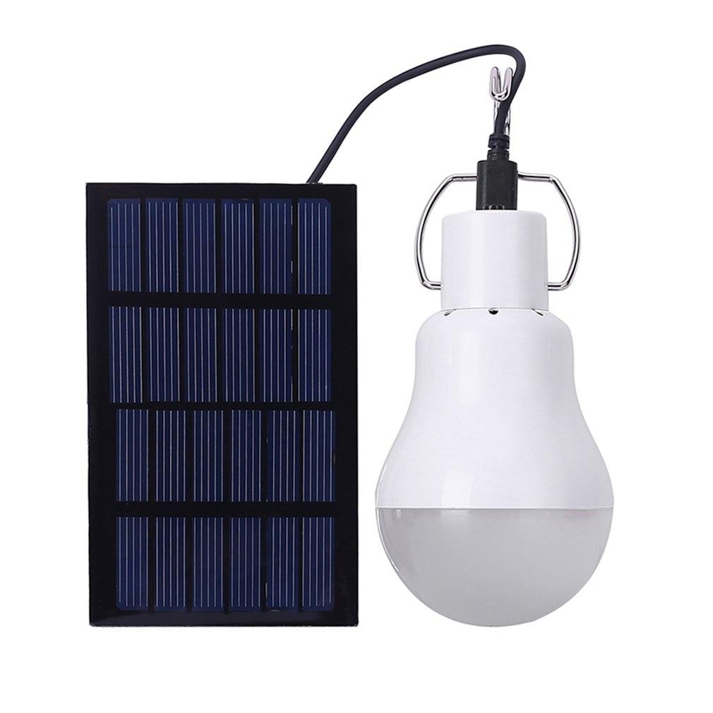 Draagbare Zonne-energie Led Lamp Licht Met Hoge Temperatuur En Shatter Weerstand Voor Behuizing Outdoor Activiteiten Emergency