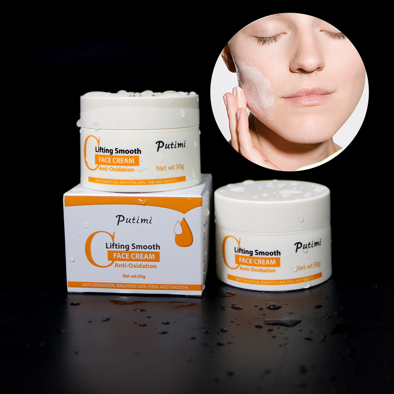 PUTIMI Face Whitening Cream Hyaluronic Acid for Face Cream Moisturizing Anti Aging Wrinkle Whitening Bright Smooth Face Cream