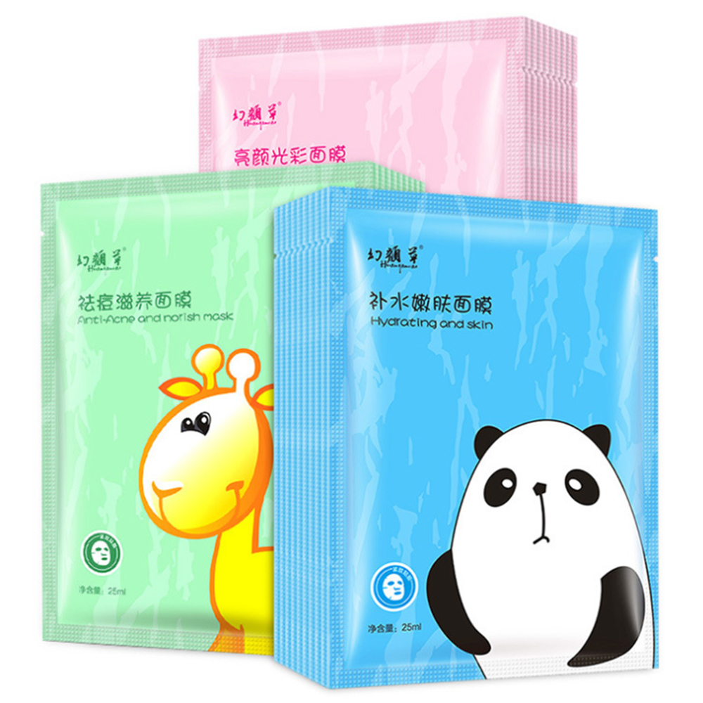 Lovely Arrival Facial Mask Brighten Fresh Anti-Acne Treatment Face Mask Moisturizing Oil Control Hydrating Skin Care