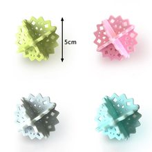 Clean-Tools Laundry-Products Dry-Wash-Ball Softener-Balls PVC Snowflake-Shape Mix-Color