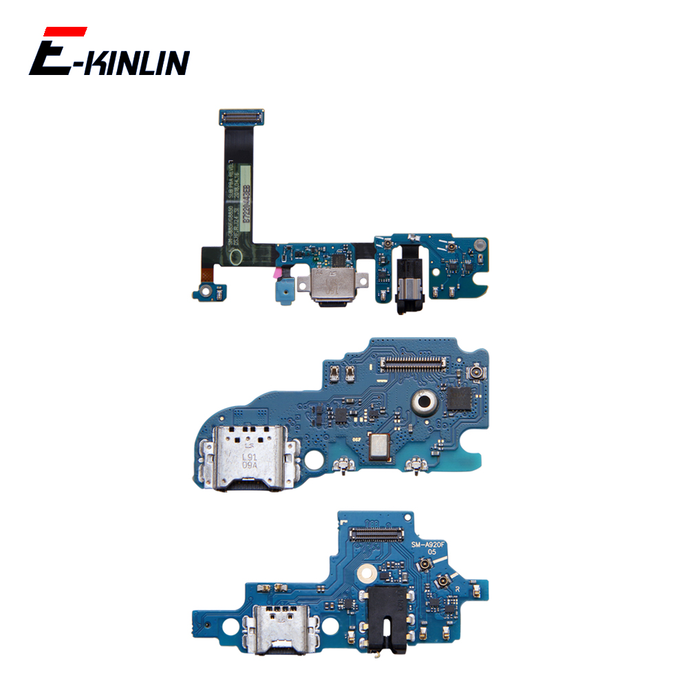 Power Charging Connector Plug Port Dock Board With Mic Microphone Flex Cable For Samsung Galaxy A8S A9 A8 Star A7 2018