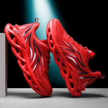 Running Shoes Cushioning Sneakers Men Breathable Sports Shoes Men Outdoor Athletic Training Walking Sneakers Wave Sole Footwear li ning men s running shoes cushioning breathable lining light weight sneakers sports shoes li ning arbm031