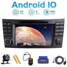 "Zltoopai 7 ""אוטומטי רדיו אנדרואיד 10 עבור מרצדס בנץ E Class W211 CLS W219 G W463 GLK W209 GPS ניווט מולטימדיה לרכב נגן"