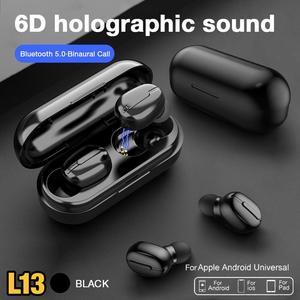 TWS 5,0 беспроводные Bluetooth наушники, наушники с микрофоном, водонепроницаемые спортивные наушники, музыкальная гарнитура, наушники для Xiaomi