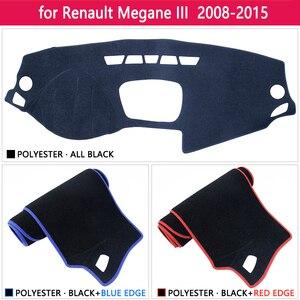 Image 3 - ل رينو ميجان 3 III MK3 2008 2009 2010 2011 2012 2013 2014 2015 كوبيه CC GT المضادة للانزلاق حصيرة لوحة ظلة الملحقات