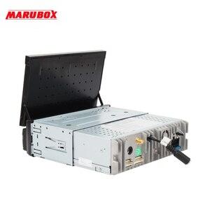 Image 5 - MARUBOX KD8600 DSP Đầu Đơn Vị Đa Năng 1 Din 8 Core Android 10.0, RAM 4GB, 64GB, đồng Hồ Định Vị GPS, Stereo, Bluetooth