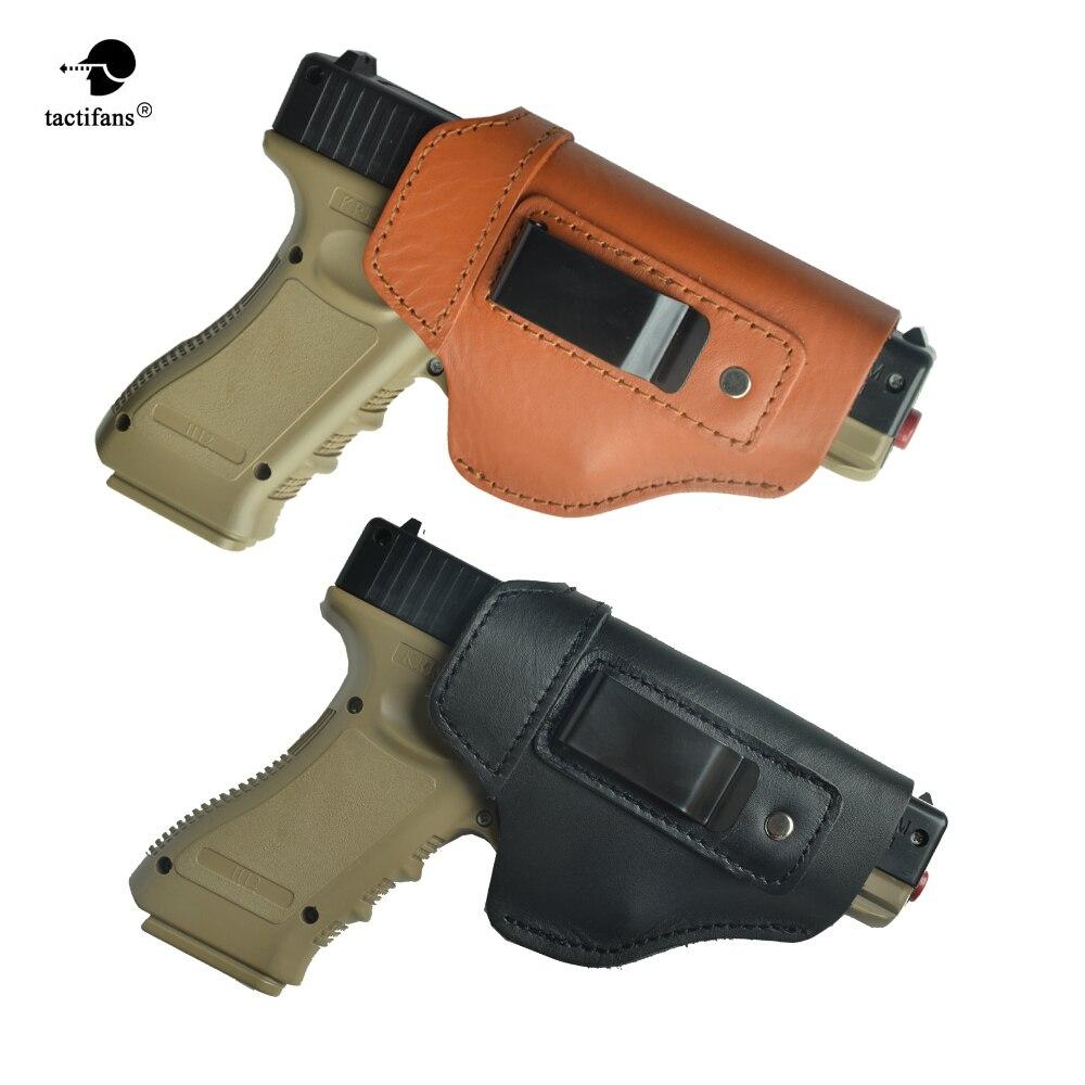 Nailon Wwman Universal Outdoor Glock Funda de Pistola t/áctica Funda de Cuello de Pistola Ajustable para CS Wargame