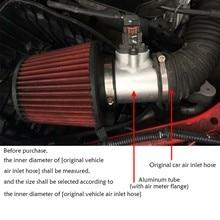 Автомобильный измеритель расхода воздуха из алюминиевого сплава основание фланца(впускной аэнсор) для Mazda для AXELA Air meter base 120 мм