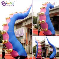 Custom made decorazione gonfiabile tentacolo/decorazione del partito gonfiabile polipo tentacoli giocattoli
