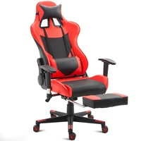 High Back Desk Computer Chair Game Gaming Chair Recliner Armchair with Lumbar Support and Footrest Office Chairs Sillas Gamer