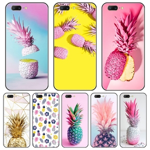 Back Cover For OnePlus 7 7 Pro 6 6T 5 5T 3 3T Yellow Pineapple Pink Soft Silicone Phone Case For One Plus 7 7 Pro 6 6T 5 5T 3 3T(China)
