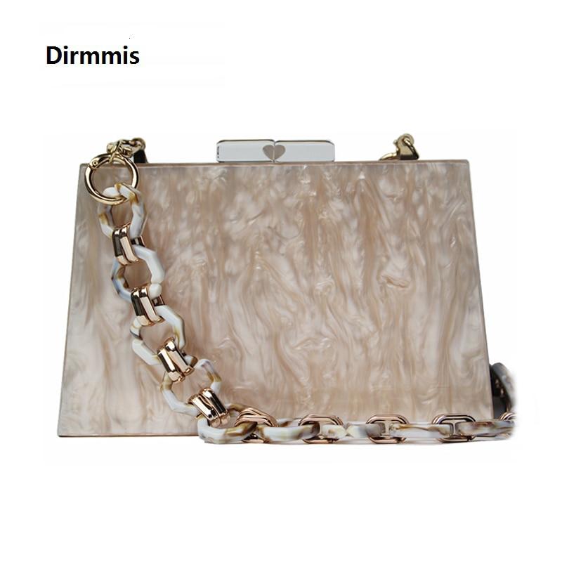 New Trendy Wedding Bags Fashion Women Handbags Champagne Cute Acrylic Luxury Party Evening Bag Woman Casual Box Clutch Purse